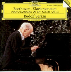 Rudolf Serkin, Budapest String Quartet - Piano Sonata no. 32 in C minor, op. 111: II. Arietta: Adagio molto semplice e cantabile
