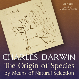 Origin Of Species by Means of Natural Selection (version 2)(9156) by Charles Darwin audiobook cover art image on Bookamo